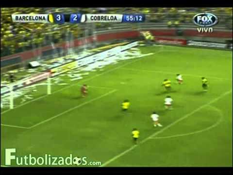 Barcelona 4 - Cobreloa 3. Copa Sudamericana 2012.