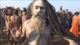 15 Jan, 2019: Millions of Hindus in India take royal bath as 'Kumbh Mela' begins - ANIINDIAFILE