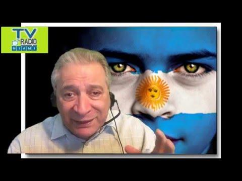 TVRadioMiami-Dr.Armando Ribas analiza el voto y veto de la ley antidespidos en Argentina