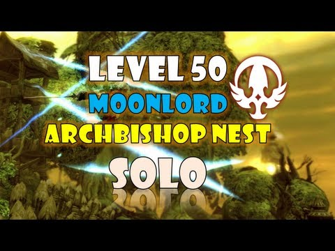Dragon Nest SEA - Level 50 Moonlord Archbishop Nest Solo Feat. AikawaKazu ~!