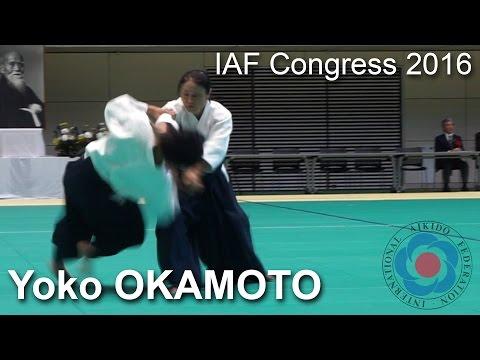 Demonstration by Yoko Okamoto - 12th IAF Congress in Takasaki