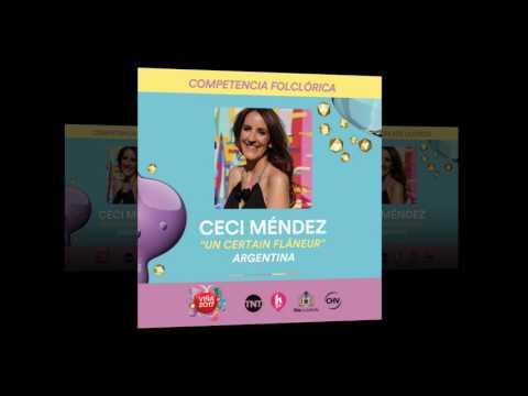 Ceci Mendez - Un Certain Flâneur, representante de Argentina