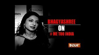Bhagyashree supports #MeToo Movement, says it is helping women - INDIATV