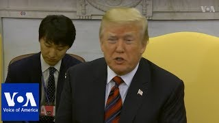 President Trump on upcoming summit with North Korean leader Kim Jong Un - VOAVIDEO