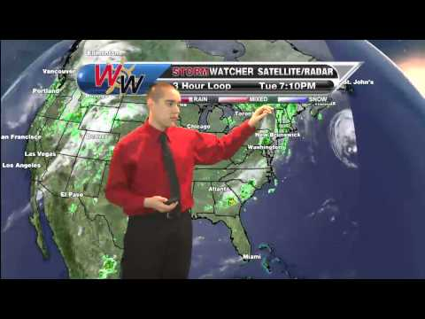 April 22, 2014 Evening Forecast