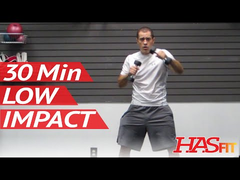 HASfit 30 Minute Low Impact Beginner Workout - Easy Exercises at Home - Easy Workout for Beginners