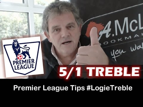#LogieTreble: 3 x Football Betting Tips for the Premier League with AMcLean ~ 18/10/2014