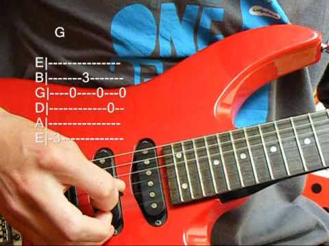 Guitar lesson Green day Good Riddance Time Of Your Life