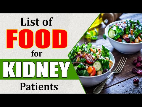Diet Chart For Kidney Patient - Foods to Eat and Foods to Avoid