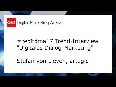 #cebitdmx17 Interview Stefan von Lieven, artegic
