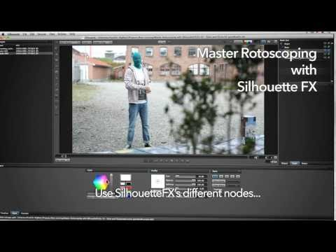 Master Rotoscoping with SilhouetteFX promo