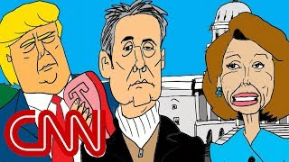 Is Cohen the negotiator the White House needs? | Drawn by Jake Tapper - CNN