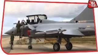 First Visuals Of Brand New India-bound Rafale Fighter Jet | AajTak Exclusive - AAJTAKTV