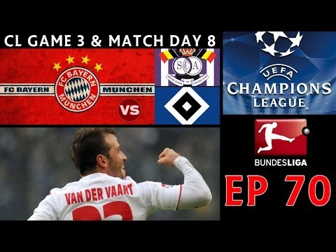[TTB] PES 2014 - ML Series - Ep 70 - Bayern Munich Vs Anderlecht & Hamburg