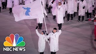 The Olympic History Of The Two Koreas | NBC News - NBCNEWS