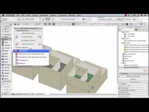 ArchiCAD Tutorial | Multi-Story Buildings: Basic & Advanced Strategies