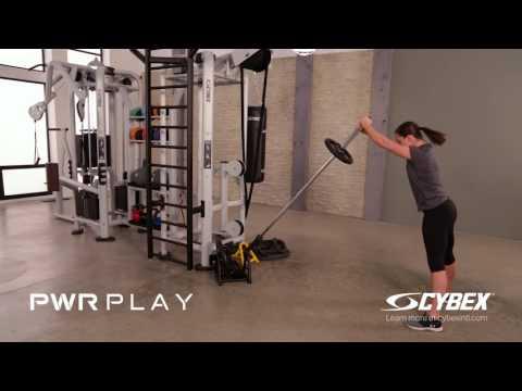 Cybex PWR PLAY - Power Pivot Squat Press Triple Extension