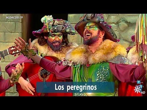 Sesión de Final, la agrupación Los peregrinos actúa hoy en la modalidad de Comparsas.