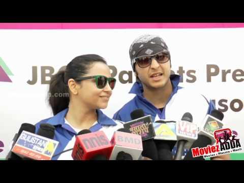 Hiten Tejwani, Gauri Pradhan @ JPPL Cricket League |
