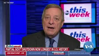 Partial US Government Shutdown Enters Week 4 - VOAVIDEO