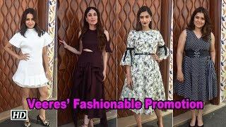 Veeres: Kareena, Sonam, Swara, Shikha's Fashionable Promotion - IANSINDIA
