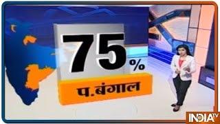 Lok Sabha Elections 2019 Phase 2 Voter Turnout: UP 62%, WB 75%, Bihar 63%, Maharashtra 57% & J&K 43% - INDIATV