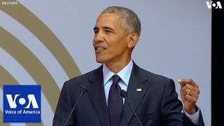 Obama Urges World to Follow Mandela's Example - VOAVIDEO
