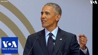 Obama Urges World to Follow Mandela's Example - VOAVIDEO