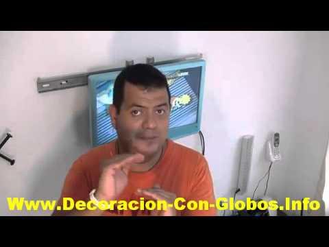 Manual Paso A Paso Para Aprender Hacer Decoraciones Con Globos Para Fiestas, Baby Shower Y Mas