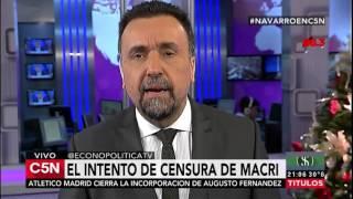 Roberto Navarro volvió recargado y fue trending topic global