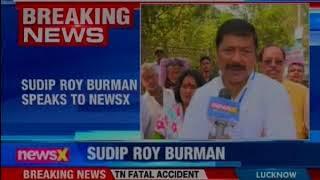 Agartala BJP candidate Sudip Roy Burman speaks to NewsX - NEWSXLIVE
