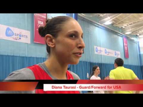 Team USA's Diana Taurasi and Sylvia Fowles tell Scripps their likes and dislikes