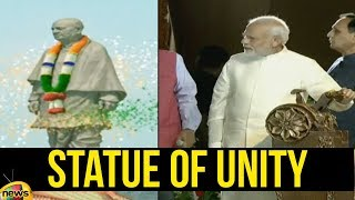 Prime Minister Narendra Modi today unveiled the 'Statue of Unity' | Mnago News - MANGONEWS