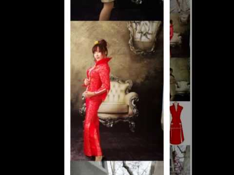 Chinese Cheongsam  the different beauty of femals