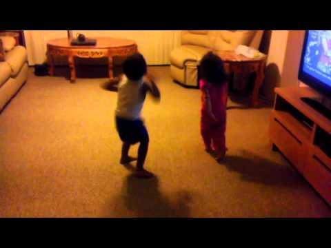 Kung Fu Fighting Kids Dancing