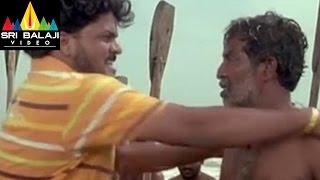 Erra Samudram Movie Fisher Man Murder Scene || R. Narayana Murthy - SRIBALAJIMOVIES