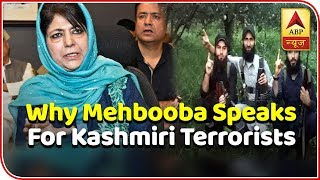 Know why Mehbooba Mufti speaks for local Kashmiri terrorists | Master Stroke (16.01.2019) - ABPNEWSTV