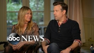 Jason Sudeikis and Jennifer Aniston Chat About Their New Film, 'Mother's Day' - ABCNEWS