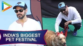 CHECK OUT: Dino Morea attends India's Biggest Pet Festival - HUNGAMA