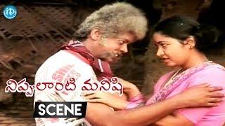 Nippulanti Manishi Movie Scenes - Balakrishna Warns Sarath Babu || Radha, Balakrishna - IDREAMMOVIES