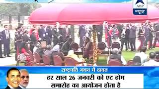 US president Obama and First Lady Michelle attend 'At Home' - ABPNEWSTV