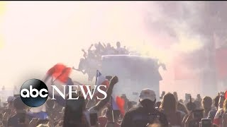 Paris gives heroes' welcome to World Cup champions - ABCNEWS