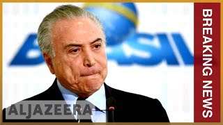 🇧🇷 Brazil's ex-President Michel Temer arrested on corruption probe | Al Jazeera English - ALJAZEERAENGLISH