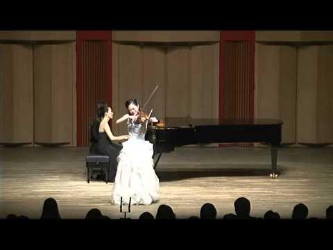 Wieniawski  Souvenir de Moscou  Violinist Ji Hae Park