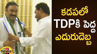 Ex Minister Khaleel Basha & MLA Amzath Basha Addresses Media on Joining in YSRCP | Mango News - MANGONEWS