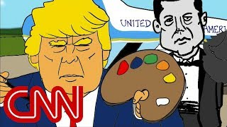 Jake Tapper's cartoon imagines Trump's Air Force One makeover - CNN