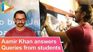 Aamir Khan answers passionate queries from Symbiosis College students - HUNGAMA