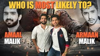 Who is most likely to? Ft. Malik brothers | Exclusive | Tellychakkar - TELLYCHAKKAR