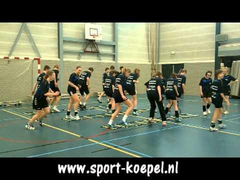 14 Handbalschool NHN looptraining 9 februari 2011 deel 2