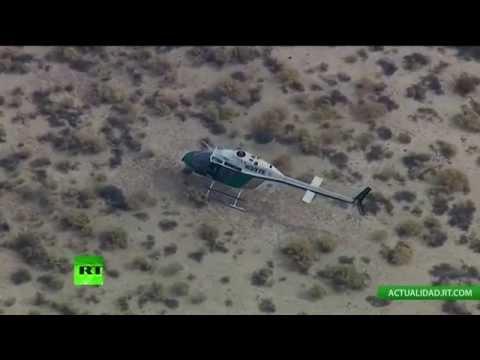 El SpaceShipTwo de Virgin Galactic se estrella en el desierto de California